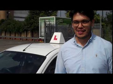 Otabek Video Testimonial Driving Lessons Sidcup
